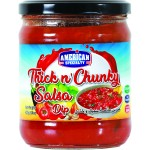 American Specialty Thick and chunky salsa dip (425g -15oz)