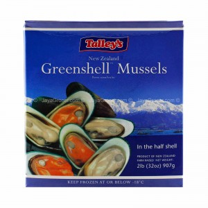 Half Shell Mussels 1 kg Pack
